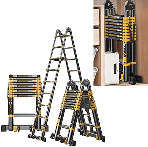 HBSC Multifunctional Translated Telescopic Ladders Non-Slip Pedals Our shop most popular with and