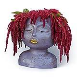 Female Head Design Planter