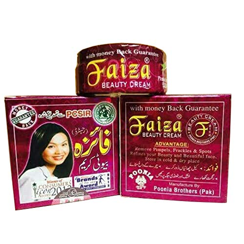 Poonima Brothers Faiza Beauty Cream Cleans Pimples, Wrinkles & Dark Circles REMOVING, Original