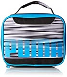 PUMA Boys' Little Backpacks and Lunch Boxes, Gray/Blue, Youth