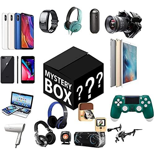 MIAOKU Mysteries Box, Überraschungspaket, interessante und aufregende Glücksbox, Können Geöffnet Werden: Elektronik, Spielzeug, Haushaltswaren,ect Alles Ist Möglich