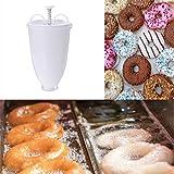 YChoice365 Donut Maker, Kunststoff Donut Dispenser Kuchen Ware Donut Herstellung Kekse Backzubehör, einfach zu kontrollieren