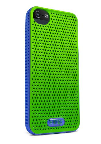 iFrogz Breeze Case Protective Case for Apple iPhone 5 / iPhone 5S / iPhone 5SE - Green/Blue