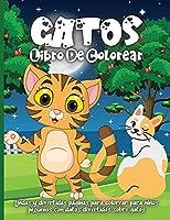 Gatos Libro De Colorear: Libro de colorear de gatos encantadores para niños y niñas en edad preescolar