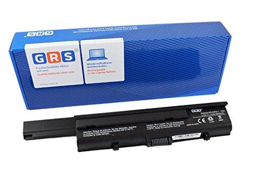 GRS Batterie avec 6600mAh pour Dell XPS M 1330, remplacé: PU556, PU563, UM230, CR036, 312-0566, WR053, TT485, 312-0567, 0WR053, Laptop Batterie 6600mAh, 11.1V