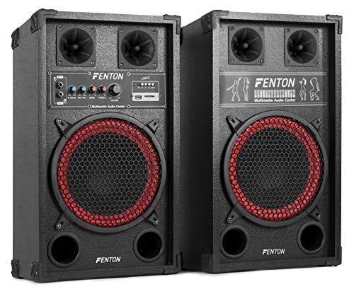 Skytec SPB-10 - Kit bafles karaoke, 26.5 x 33 x 53.7 cm, negro