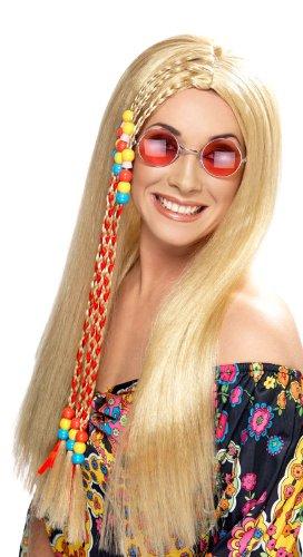 Générique Perruque Hippie Blonde