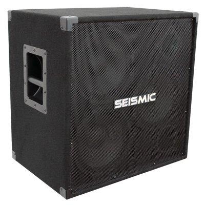 Seismic Audio - 310 Bass Guitar Speaker Cabinet PA DJ 750 Watts 3x10 3 10