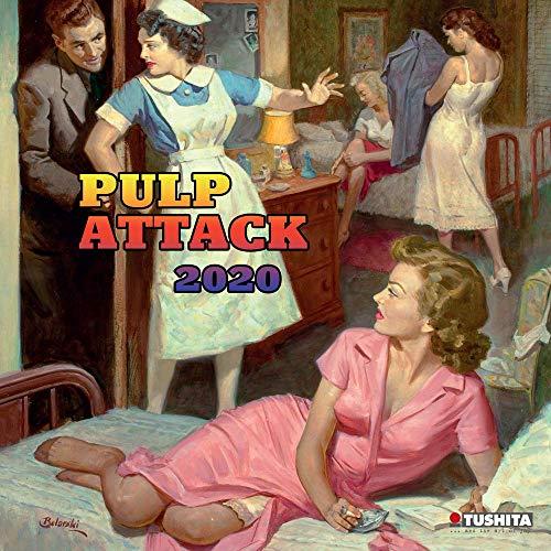 Calendario 2020 – Lámina de película erótica retro – Vintage – Película cute – sensual – Mujer (TS) + agenda de bolsillo 2019