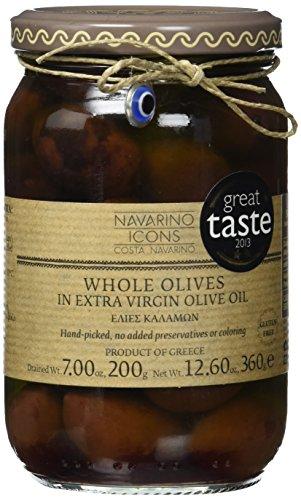 Navarino Icons Kalamon Variety Olives, 1er Pack (1 x 360 ml)