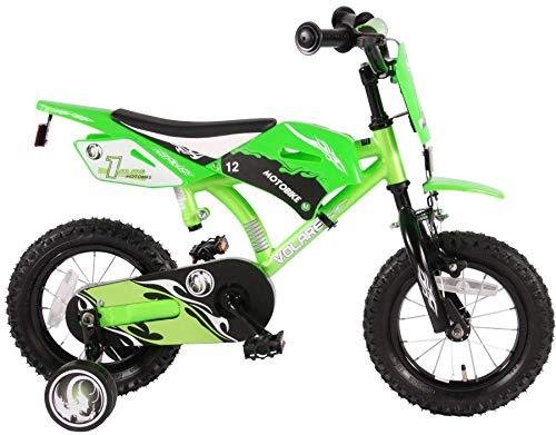 Volare Boy Fahrrad Motorrad 30,5cm mit abnehmbarem Training Räder und hinten coasterbrake grün 345Jahre