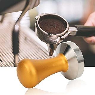 YuKeShop Accessoires pour machine à café - 58 mm - Antirouille - Doré - Pour la maison et le bureau