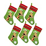by Robelli Pack of 6 'I Wuf Stockings for Pet Dogs
