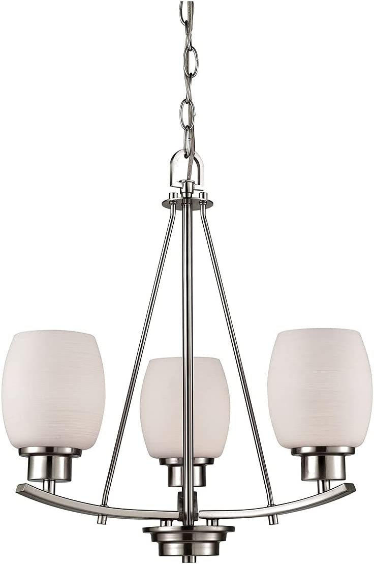 Thomas Lighting CN170322 OFFer Nickel 2021new shipping free shipping Chandelier Brushed
