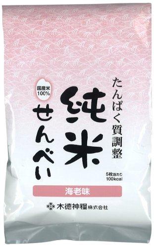 たんぱく質調整 純 米せんべい海老味(国産米使用) 65g