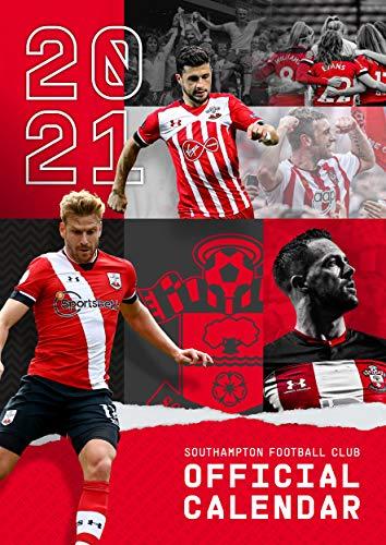 Official Southampton FC 2021 Calendar - A3 Wall Format Calendar