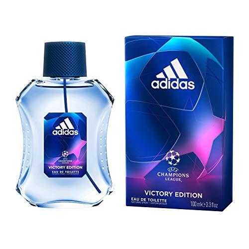 Adidas UEFA Champions League Eau de Toilette, Victory Edition, Profumo da Uomo, 100 ml