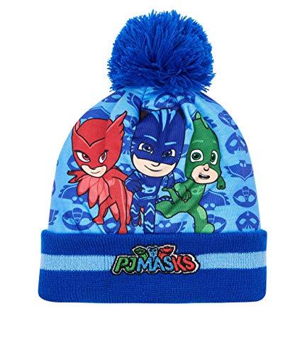 PJ Masks Pyjamahelden Jungen Mütze Blau 52