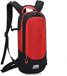Dengyujiaasj Backpack, Pouch Cycling Hiking Knapsack, Mountain Bike Water Bag, Raincoat Bicycle Backpack, Men Women Encamp...