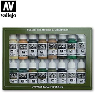 70109 VALLEJO MODEL COLOR SET 16 CO
