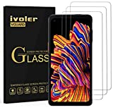 ivoler 3 Unidades Protector de Pantalla para Samsung Galaxy Xcover Pro, Cristal Vidrio Templado...