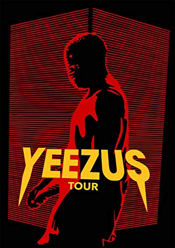 Ulterior Clothing Yeezus Red Lines A1 A2 A3 Poster