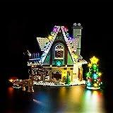 HYZM Kit de iluminación LED para Lego Elf Clubhouse Set - Kit de luces LED para Lego 10275 (juego de luces LED solamente, sin kit de lego)