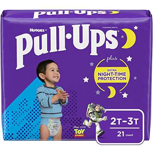 Pull-Ups Night-Time Boys' Training Pants, 2T-3T, 21 Ct