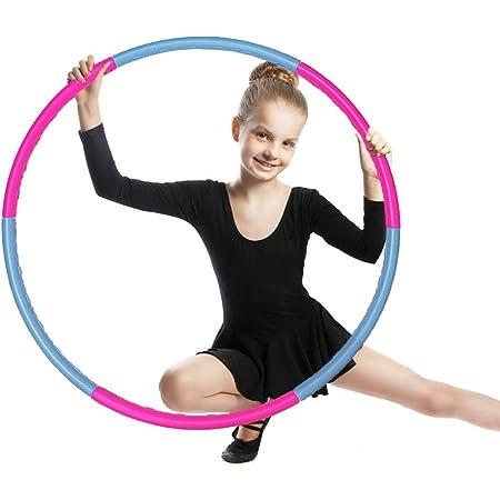 Länge 60 cm Knöchel Hula-Hoop Ring rosa
