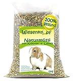 Wiesenknopf 15kg Kaninchenfutter Strukturfutter mit Kräuter