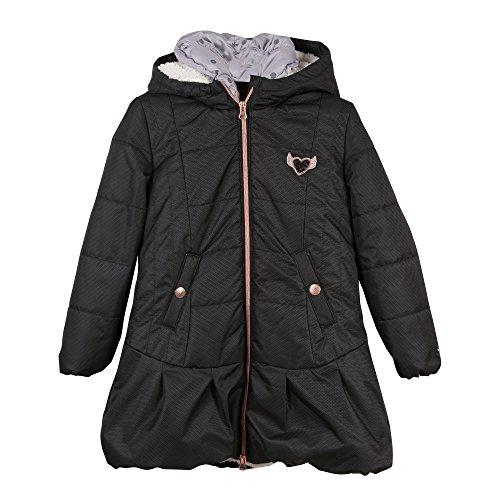 Catimini Mädchen Parka 3 EN 1 Mantel, Schwarz (Noir 2), 10 Jahre (Hersteller Größe: 10A)
