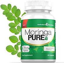 Moringa Pure Capsules 500mg 60 Capsules Evolution Slimming Estimated Price : £ 19,99