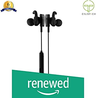 (Renewed) Celestech CT512 Wireless Bluetooth Sports Headset with in Built Mic (Black)