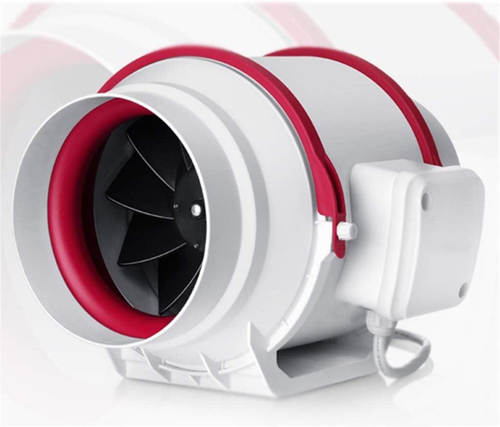 Yousiju Extractor de baño, extractor de cocina con interruptor de silencio de dos velocidades Resistente al agua para baño/cocina/centro comercial Tamaño: 4/6 pulgadas (Size : 6 inches)