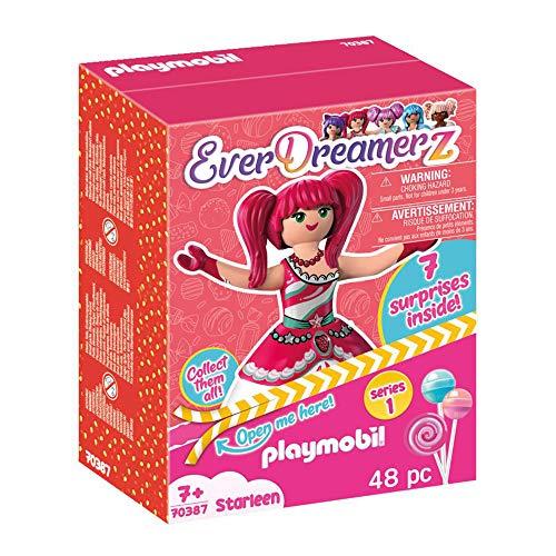 PLAYMOBIL-EverDreamerz 70387 Starleen mit Erdbeereis-Anhänger, Ab 7 Jahren