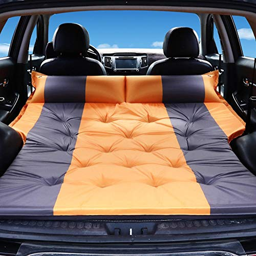 N/P Multifunctional Air Mattress,Inflatable Car Air Mattress,Trunk Travel Air Bed,Portable Travel,Camping,Vacation,Flitaing Bed,Floating Bed,Sleeping Blow-Up Bed Pad fits SUV,Truck,Compact Twin Size