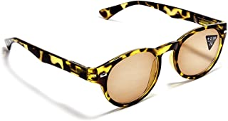 Retro Reading Sunglasses for Women and Men Well-Rounded Style by Florida Glasses (Strength +2.50)
