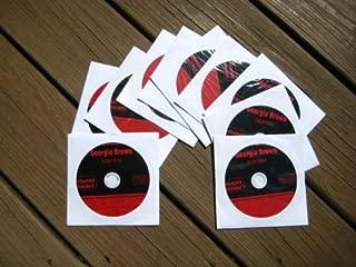 10 Disk Karaoke CDG Set SGB TOOLBOX - 201 Song Pack by Sweet Georgia Brown