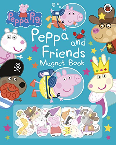 Peppa Pig: Peppa and Friends Magnet Book [Lingua Inglese]