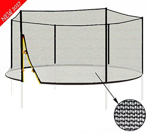 L-F-370 - Rete di Sicurezza - Per la Trampolino 3.70 - per 6 barre - offerta senza barre