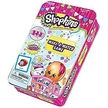 Shopkins Make A Match Game Tin with Shopkins | Shopkin.Toys - Image 1