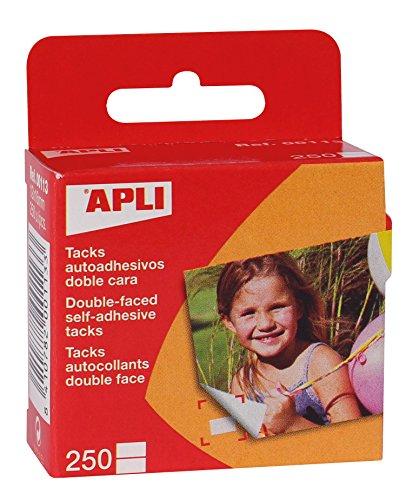 Apli Kids 113 Pack De 250 Fijafotos Autoadhesivos, 12 X 16 Mm