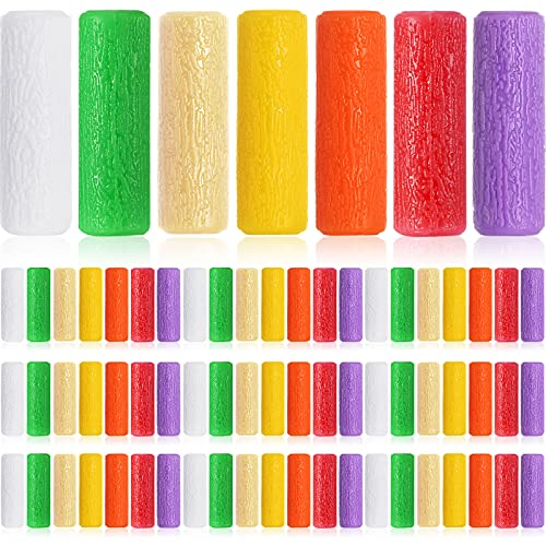70 Pieces Aligner Tray Seaters Chewies for Aligner Trays Chompers Aligner Trays, 7 Colors