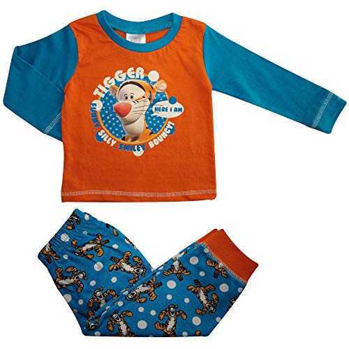 Disney Mickey/Minnie Mouse - Pijama de algodón para bebé (6-24 meses)