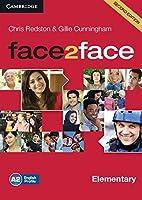 face2face Elementary Class Audio CDs. 2nd.