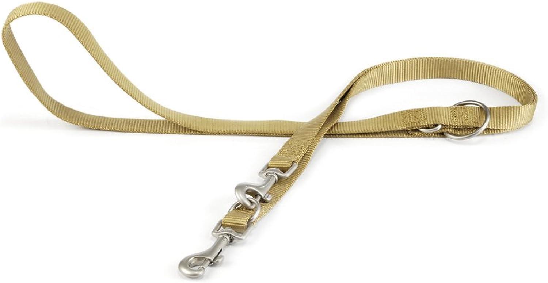 Beeztees Nylon Training Leash, 200 cm x 20 mm, Yellow