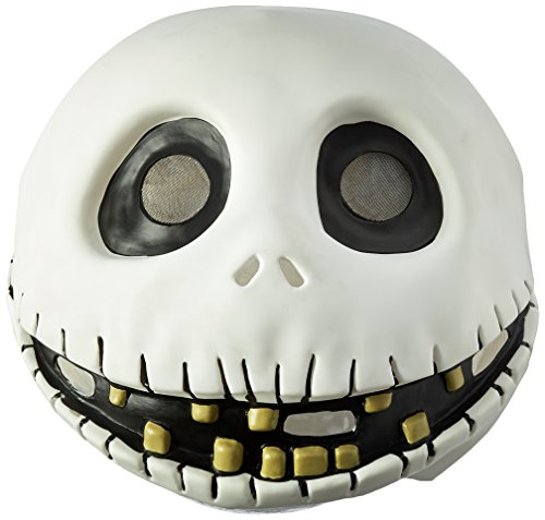 Disguise Men's The Nightmare Before Christmas Jack Skellington Mask, One Size