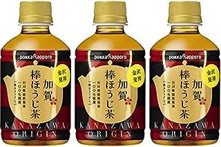 ポッカ 加賀棒ほうじ茶 275ml × 72本 (3ケース) ペットボトル