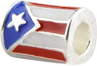 Universal Puerto Rico Flag Charm