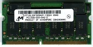 マイクロン純正 ノートパソコン用メモリ SDRAM SO-DIMM PC133 256MB 144pin バルク
